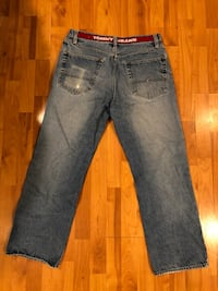 blue denim straight cut jeans Germantown, 20876