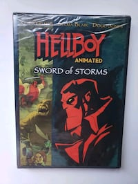 Hellboy - Sword of Storms - Animated Dvd Brampton, L6Z 3E8