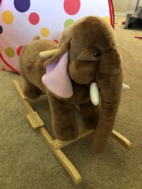 ELEPHANT RIDE with Sounds, ROCKER Toy for Kid Toddler. Like New