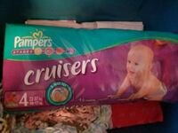 Size 4 Pampers Cruisers. Langley, V3A 3H7