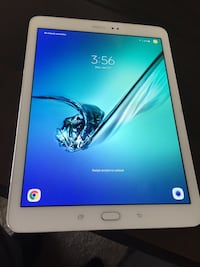 white Samsung Galaxy Tab with box ??????, 92606