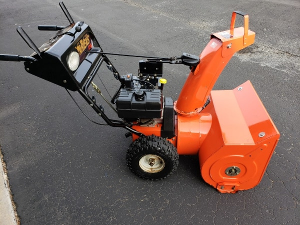 Used Ariens HEAVY DUTY 2 stage Snow Blower 8hp Engine Electric Start