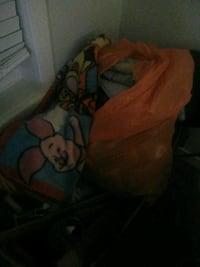 Bag full of assorted baby blankets and quilts Regina, S4V