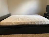 IKEA Malm Full Size bed frame w/ 4 drawers and mattress Vancouver, 98683