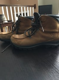 pair of brown leather work boots Dartmouth, B3A 1J7