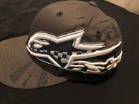 L@@K A-STARS GREY HAT PRO FITTED SIZE LARGE -XL Edmonton