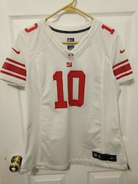 New York Giants Women's Jersey 10 Manning