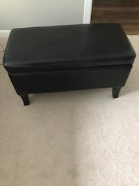 black wooden 2-drawer chest Arlington, 22201