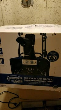 Electric snow blower Mississauga