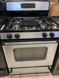 GE 4 Burner Gas Range