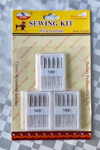Universal sewing needle pack new  Mississauga, L5V 1C6