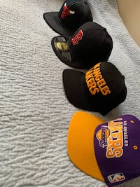 Bulls, Lakers, Boston Red Sox hats Toronto, M2J 4Y2