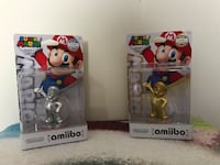 Brand New Gold and Silver Super Mario Amiibo Set Talbott, 37877