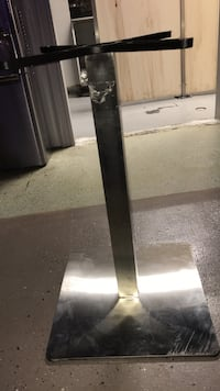 stainless steel pedestal stand 550 km
