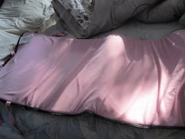 Large 2 ft x 5 ft Pink Terry Cloth Foam Mat Cushion