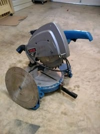 black and blue miter saw Ranson, 25438