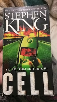 Cell Stephen king book Duncan, V9L 4E5