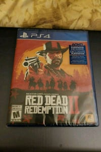 Sony PS4 Red Dead Redemption 2 (Unopened) 3728 km