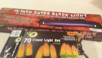 Black light & halloween lights  Oroville, 95965