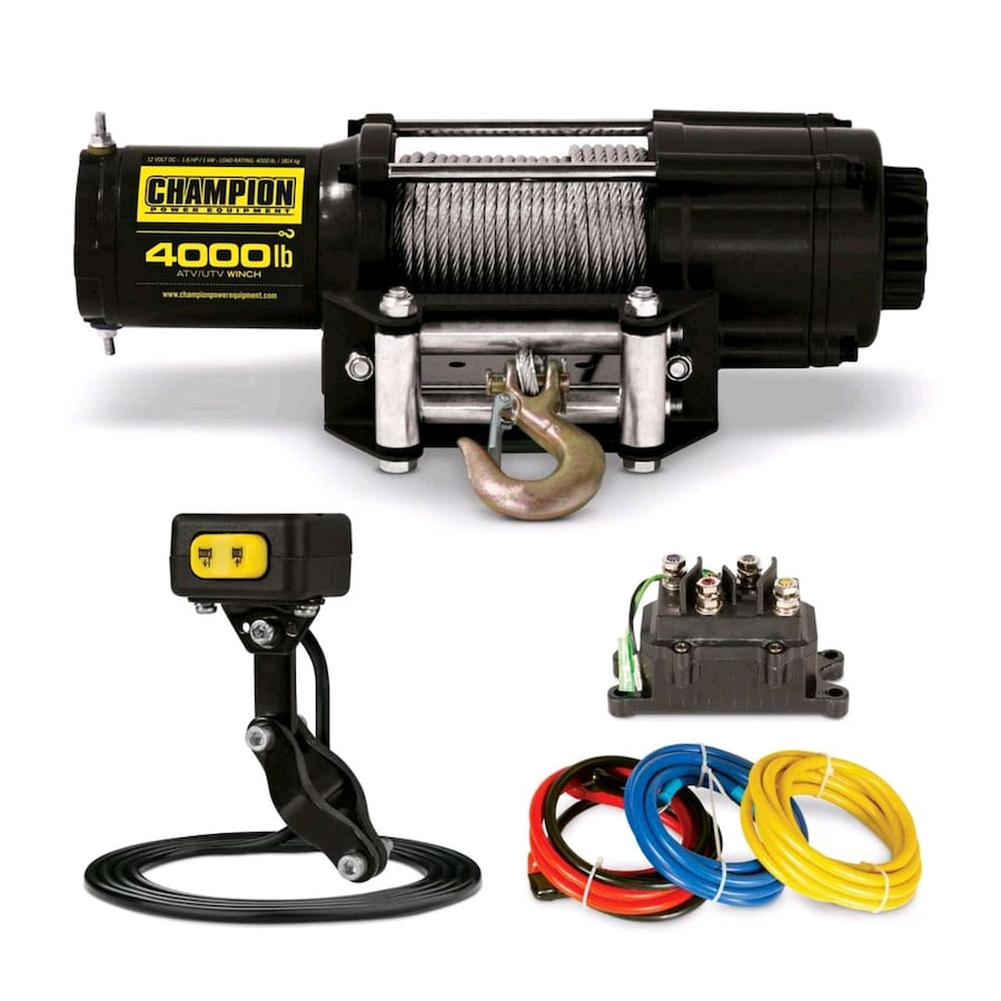 3000LB CHAMPION ATV /UTV WINCH KIT
