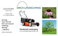 Landscaping, Lawn mowing