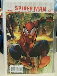 #1 Ultimate Spider-Man comic book Marvel  Toronto, M3C 4C5
