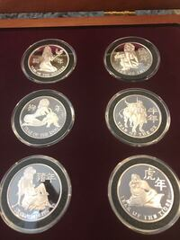 Chinese New Year silver coins Lake Forest, 92630