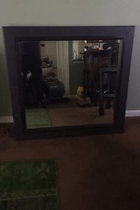 Brown leather mirror Capitol Heights, 20743