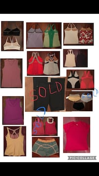 Lululemon tops, bras, pants sz 8 new and EUC Toronto, M9P 1P7