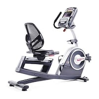 Black and gray stationary bike Hyattsville, 20785