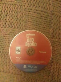 PS4 The Old Blood disc Paradise, 95969