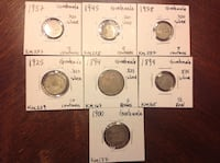 Old coins from Guatemala  Falls Church, 22046