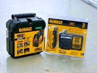 DeWalt self leveling cross line laser and 3ah battery and charger
