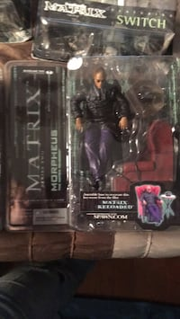 Morpheus from the Matrix, sitting action figure