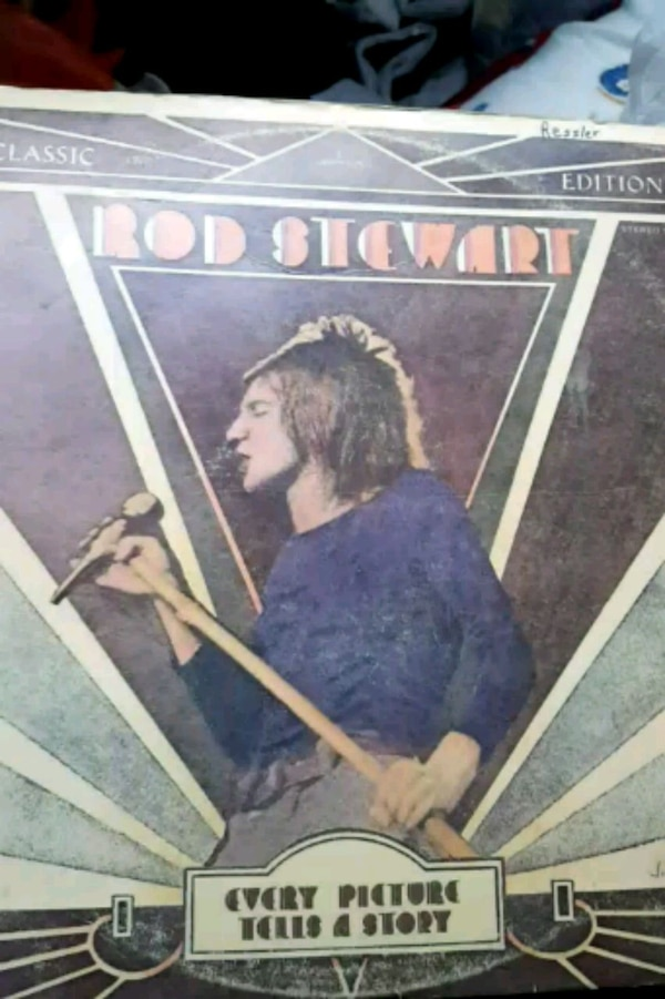 """Rod Stewart """"Every Picture Tells a Story"""" vinyl"""