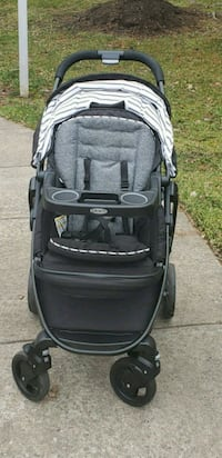 Baby's black and gray Graco stroller Lorton, 22079