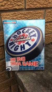 Hockey night in Canada DVD trivia game