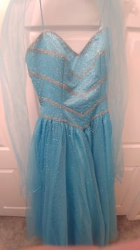 Prom Style Dress and Shoes