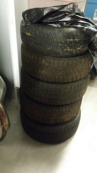 four black auto tire set Capitol Heights, 20743