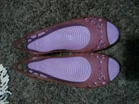 pair of purple leather flats Salt Lake City, 84115