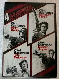 4 film Dirty Harry collection dvd