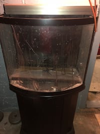 Fish tank with stand.    New York, 10464