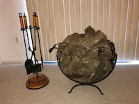Fire Place Log Holder And Accessories Germantown, 20874