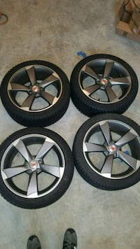 Audi/VW wheels and winter tires Boyds, 20841