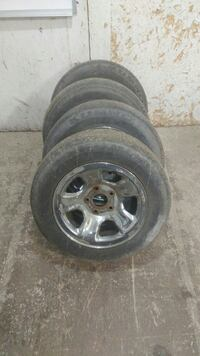 4 tires off of a dodge ram 1500