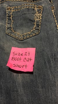 Miss me boot cut /short.   Size 29 Bakersfield, 93309