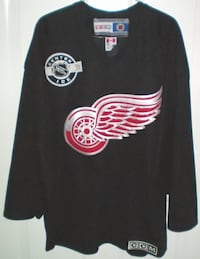 CCM Detroit Red Wings NHL Center Ice Practice Jersey Size Medium London