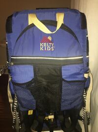 Baby's blue and black hiking carrier Pasadena, 91103
