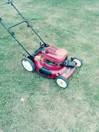 red and black push mower Gaithersburg, 20877