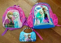 Girls Backpacks And Purse  Mississauga, L5J 1R2